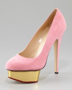 charlotte olympia pink dolly
