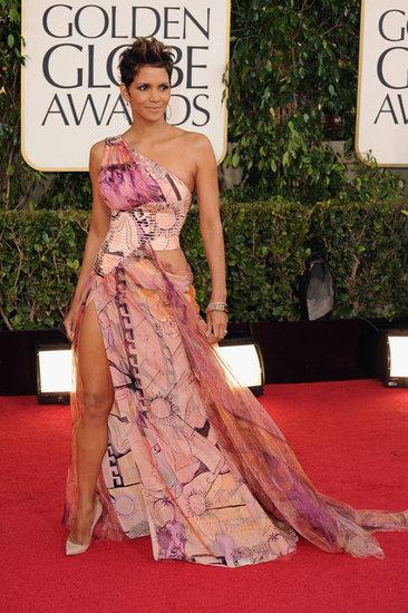 halle berry golden globes 2013 scarpe vestito