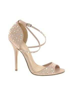 sandalo gioiello low cost tacco alto cristalli prezzo basso