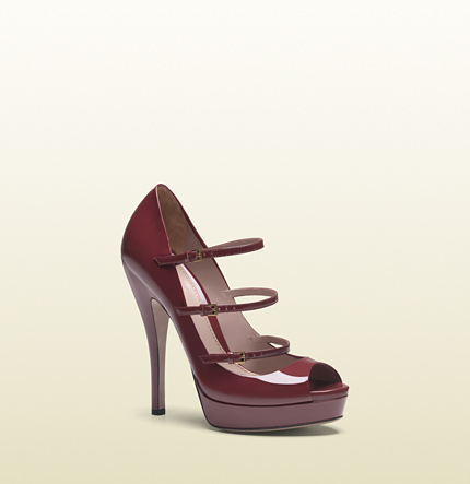scarpe gucci tripli cinturino