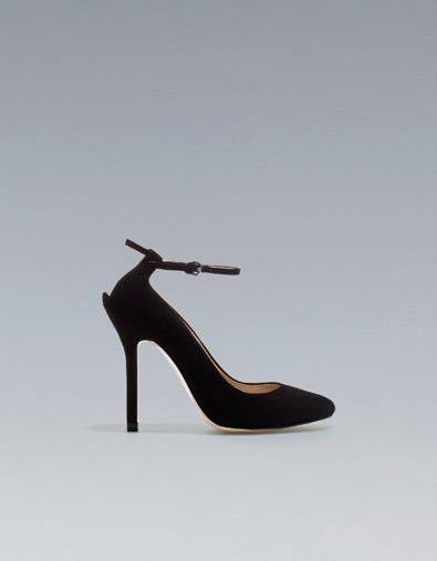 scarpe nere zara tacco alto 2013