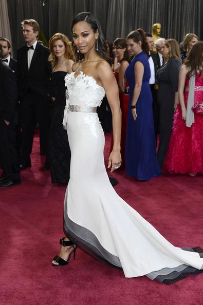 Zoe+Saldana+85th+Annual+Academy+Awards+Arrivals
