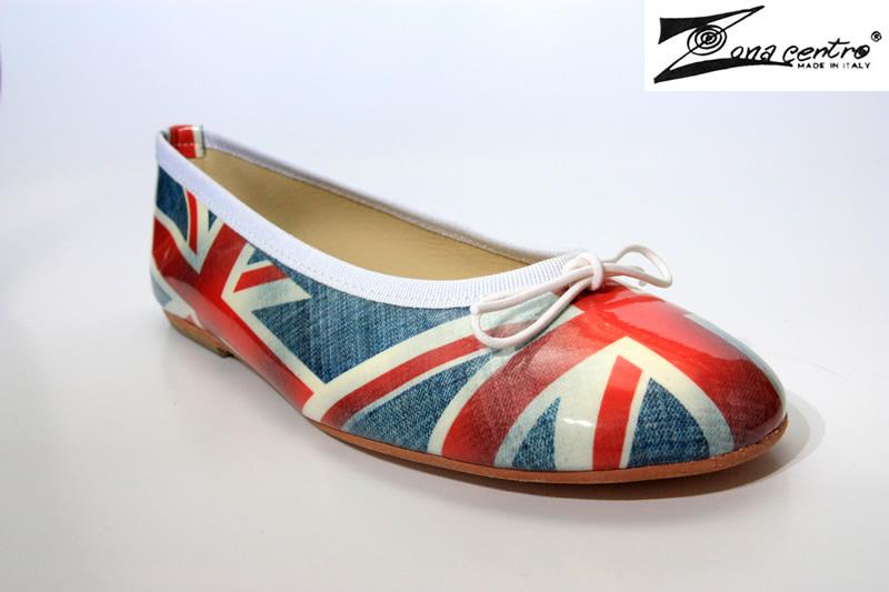 scarpe bandiera inglese