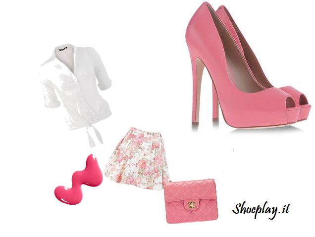 consigli outfit con scarpe rosa