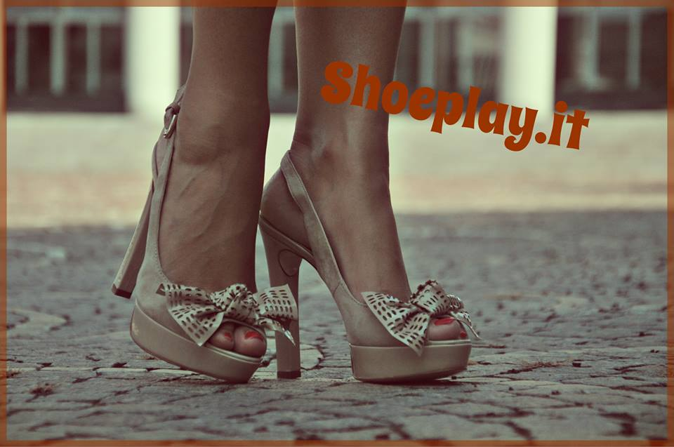 Sandali nude Pittarello Rosso Shoeplay Fashion blog di