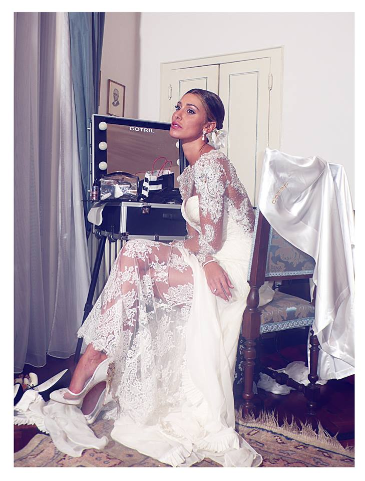CORI AMENTA indossa calzature CORIAMENTA_foto preparativi matrimonio_PH MARIO GOMEZ