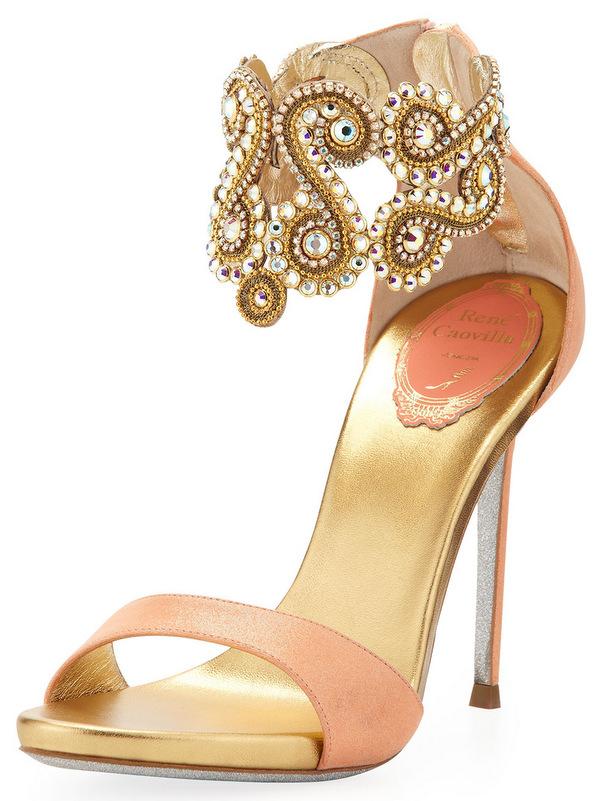 Sandalo caovilla SS 2013Rene-Caovilla-Crystal-Embellished-Ankle-Bracelet-Sandal