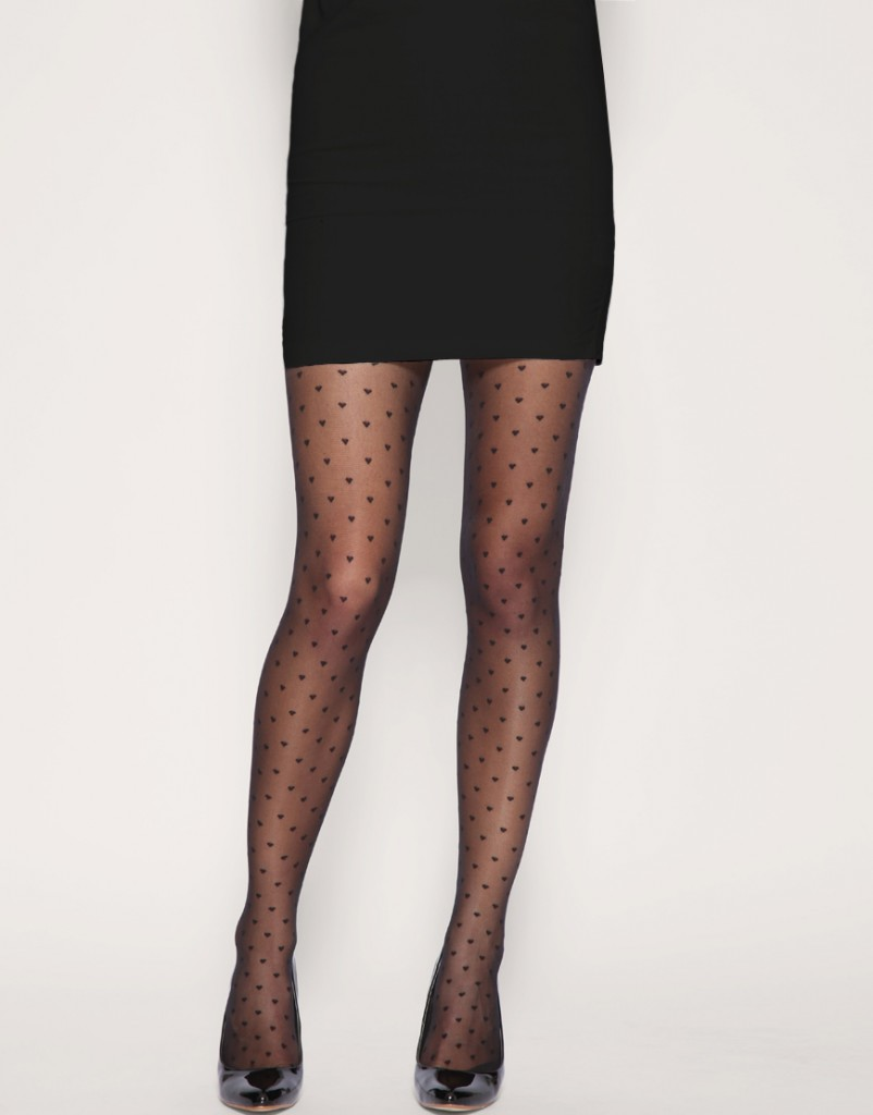 calze cuoricini low cost pantyhose hearts