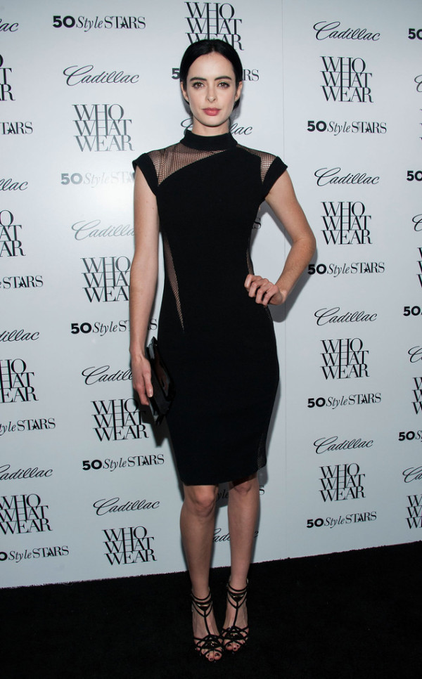 Krysten-Ritter-in-Reem-Acra-Who-What-Wear-And-Cadillacs-50-Most-Fashionable-Women-Of-2013-Event-600x966