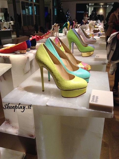 charlotte olympia selfirdges shoe gallery SS 2014