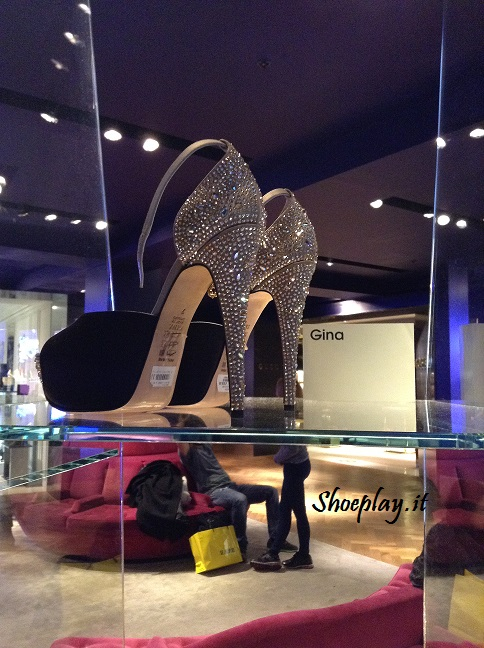 gina jewel heels selfridges