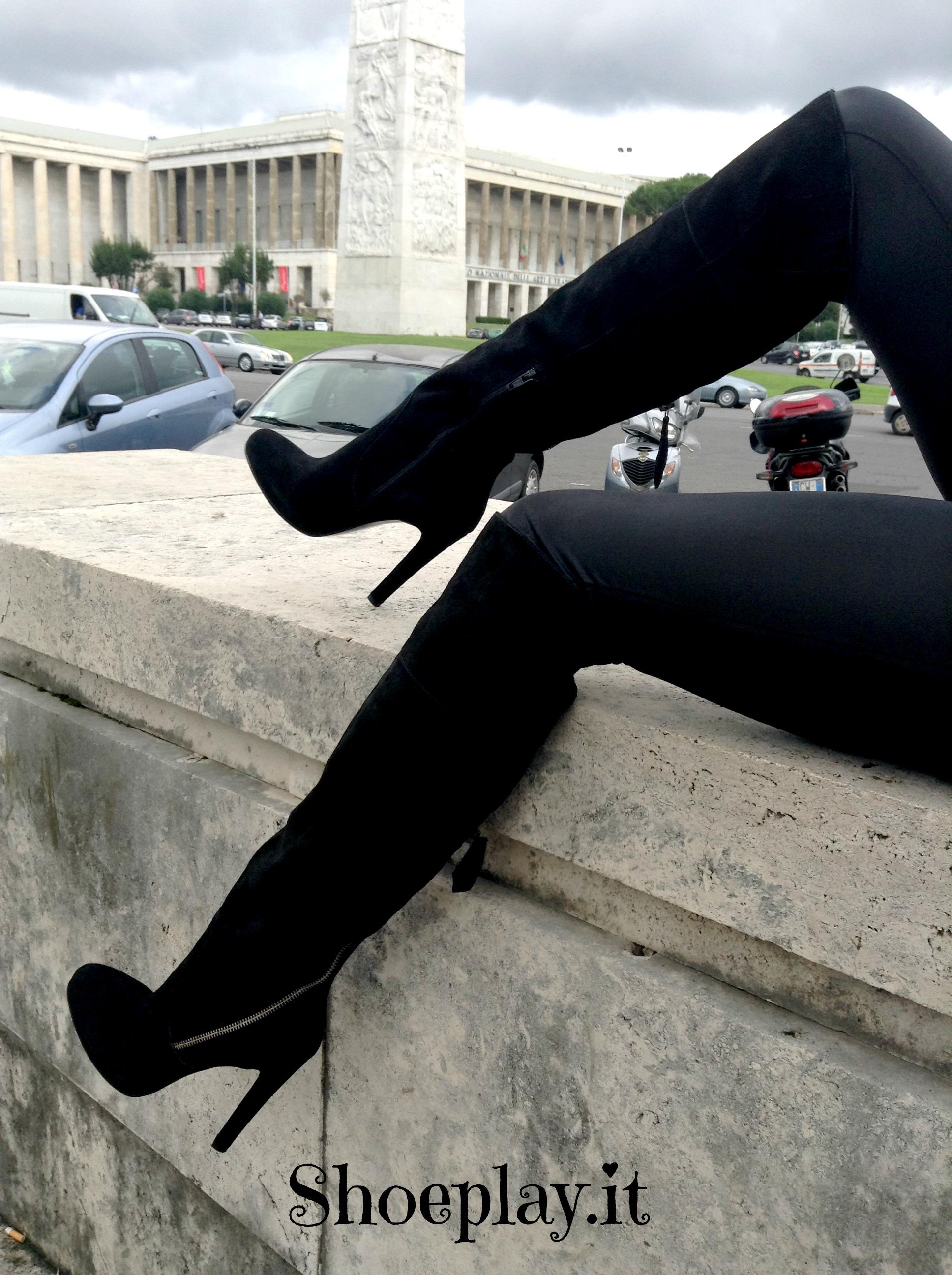 pittarello rosso stivali Shoeplay Fashion blog di scarpe