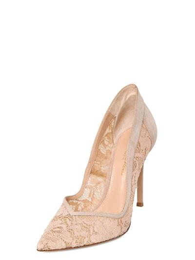 scarpe in pizzo rosa gianvito rossi 2014
