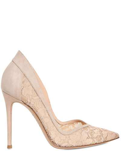 gianvito rossi lace pumps 2014