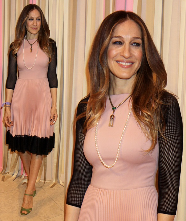 SJP Shoe Collection debut in NYC