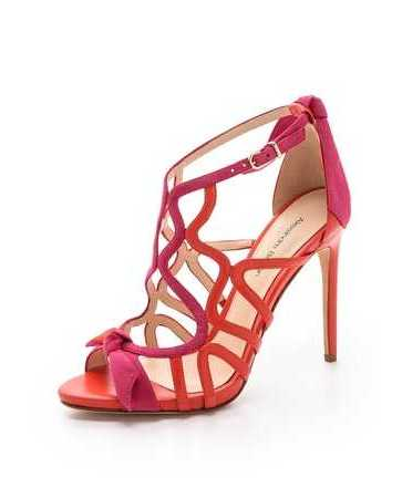 birman orange pink sandal