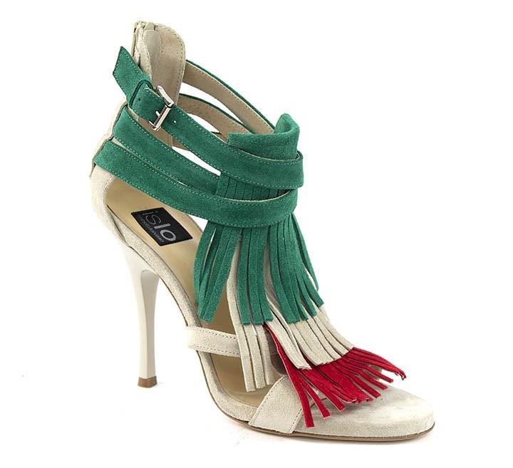 sandalo tricolore