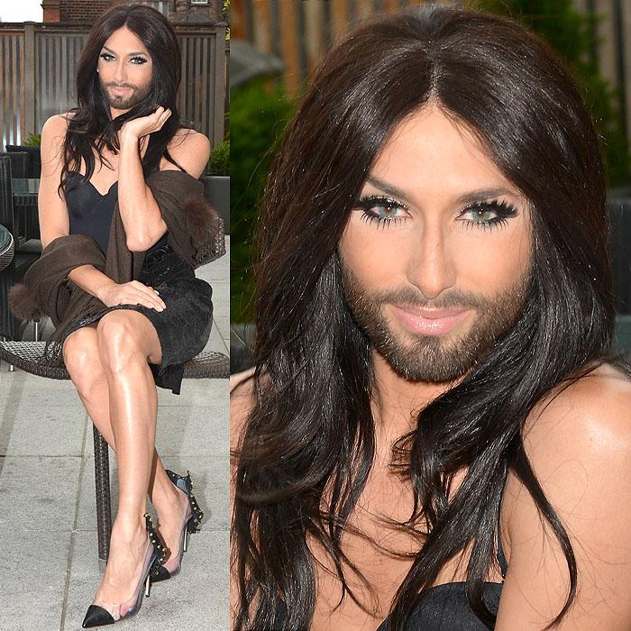 Conchita-Wurst-Daniele-Michetti-Thali-pumps dublino gay pride 2014-1