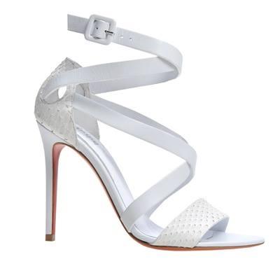 baldinini sandalo bianco 2014
