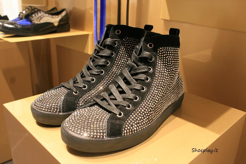sneakers gioiello strass cinti