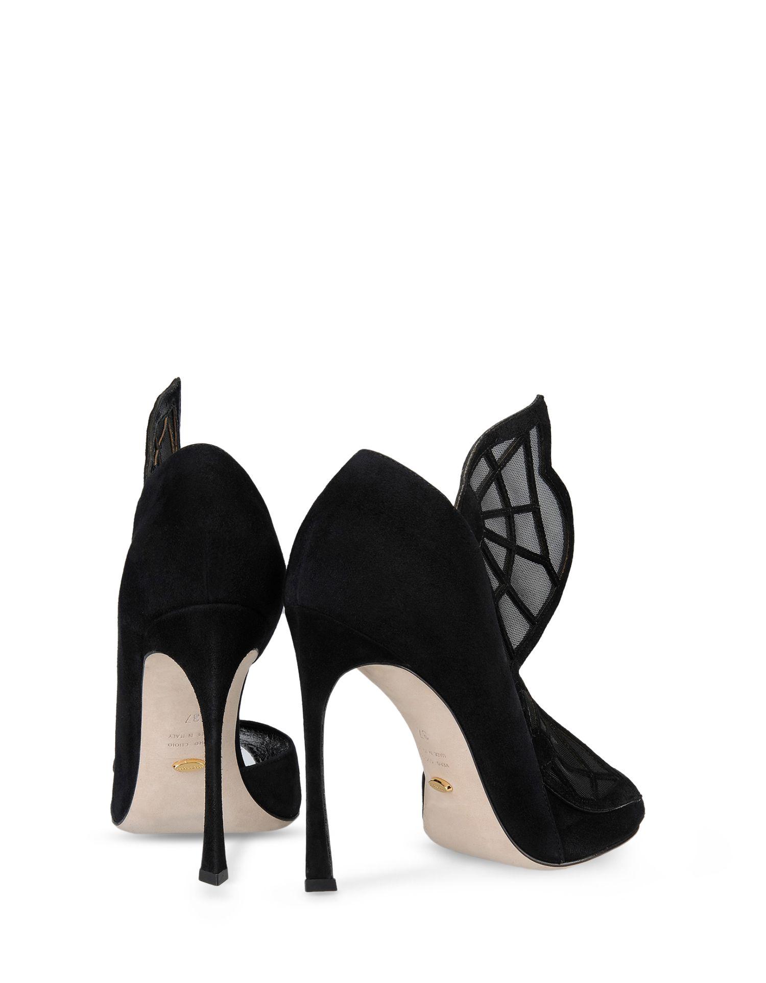 Sergio Rossi Enchanted Garden - sandali gioiello con ali di farfalla 5d0a5ca3012