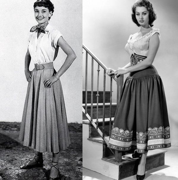 come indossare la full skirt