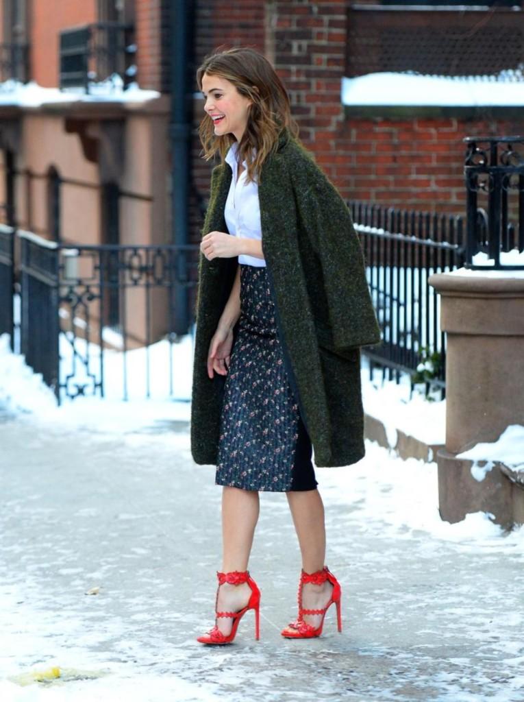 Sandali nella neve