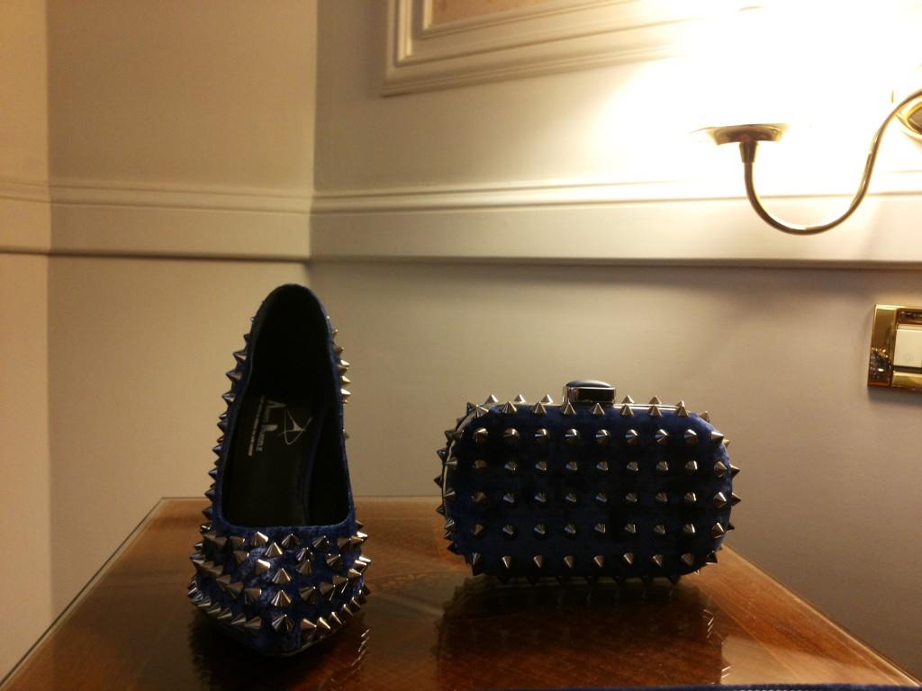 scarpe con borchie