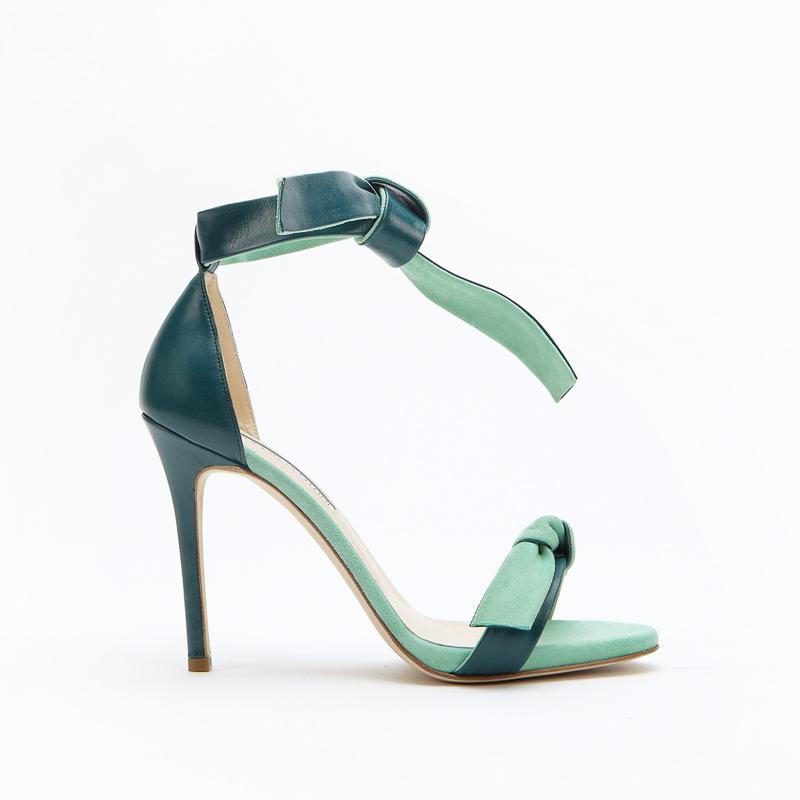 sandalo verde smeraldo