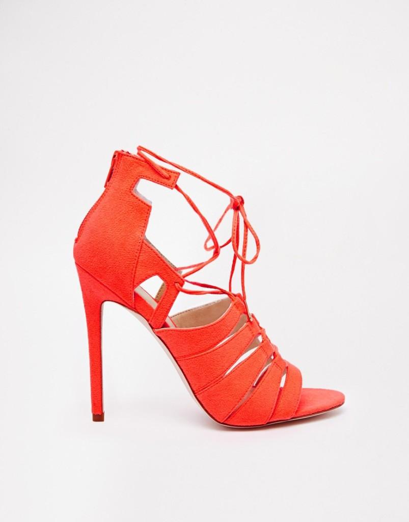 Sandali rossi low cost