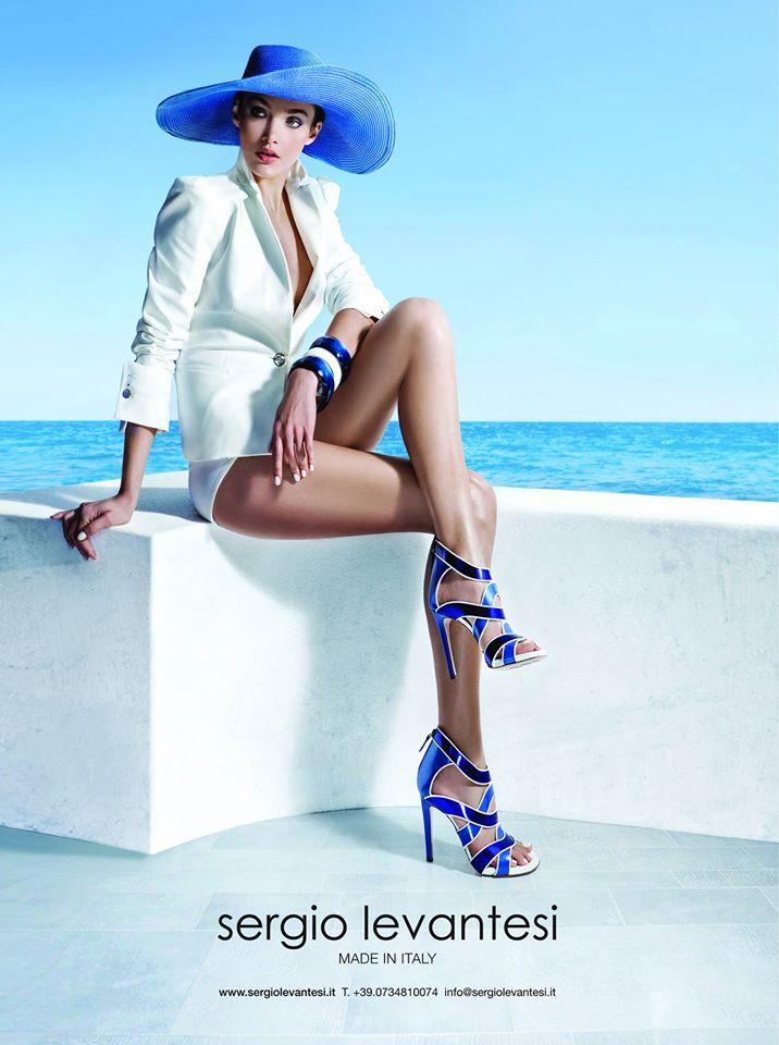 sandali blu tacco altissimo