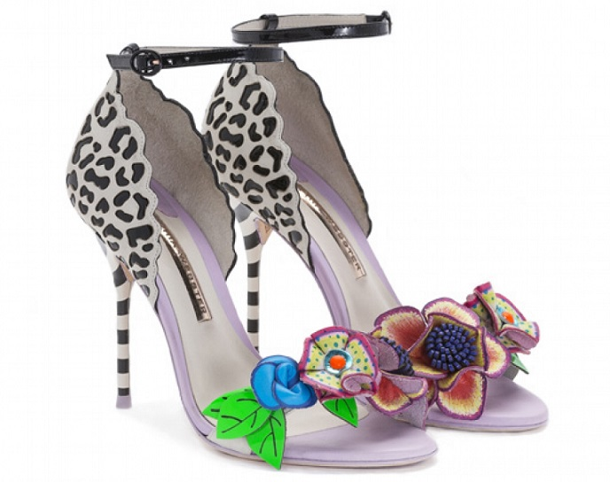 Sophia Webster Lilico Jungle White Sandal 2