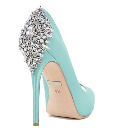 Scarpe Da Sposa Color Tiffany.Scarpe Azzurro Tiffany Calzature Da Sposa Spettacolari