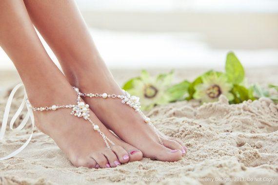 scarpe sposa matrimonio spiaggia