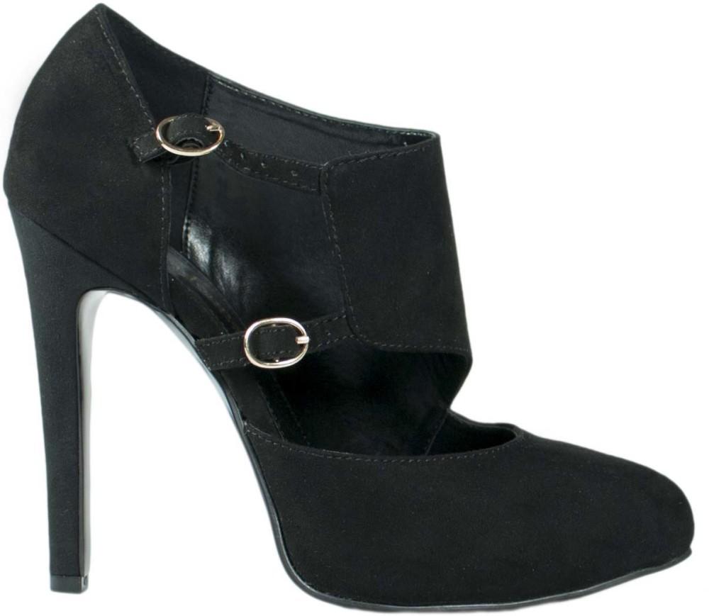 scarpe nere primadonna tacco alto