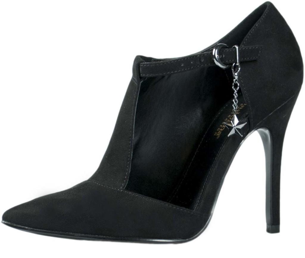 scarpe asimmetriche tacco alto