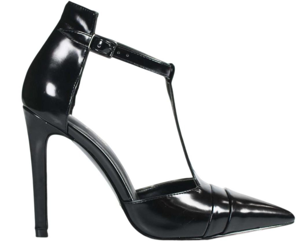 scarpe nere tacco alto