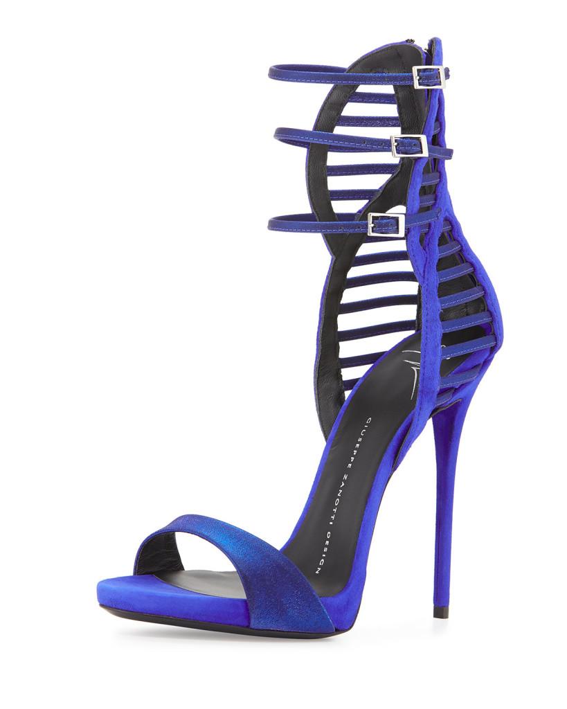 sandali blu cina