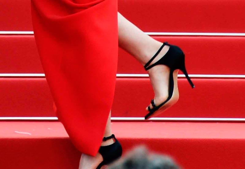 scarpe natalie portman cannes 2015
