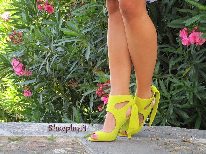 foto outfit giallo