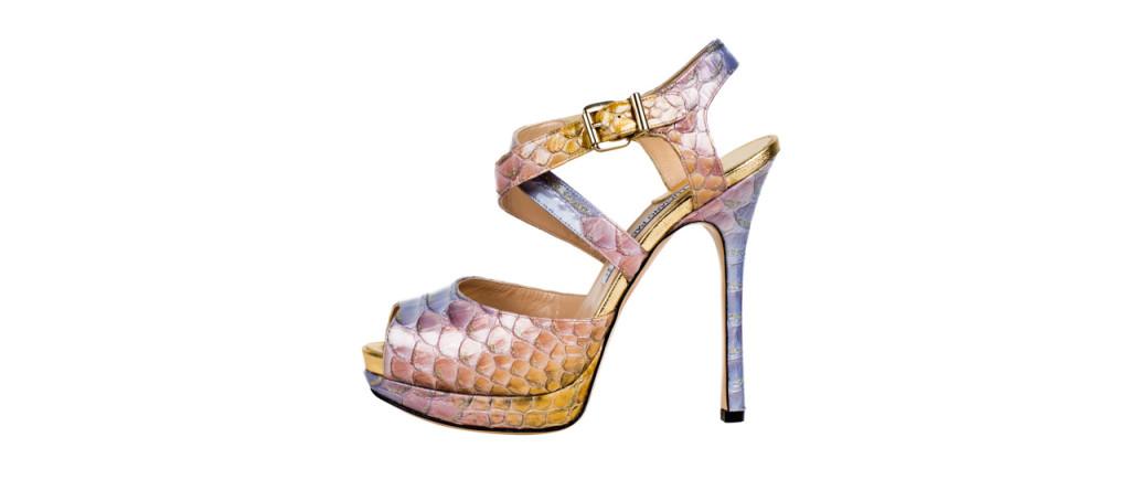 scarpe pitone