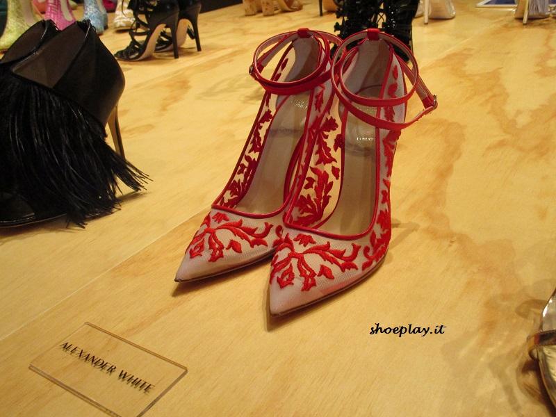 altaroma scarpe pizzo