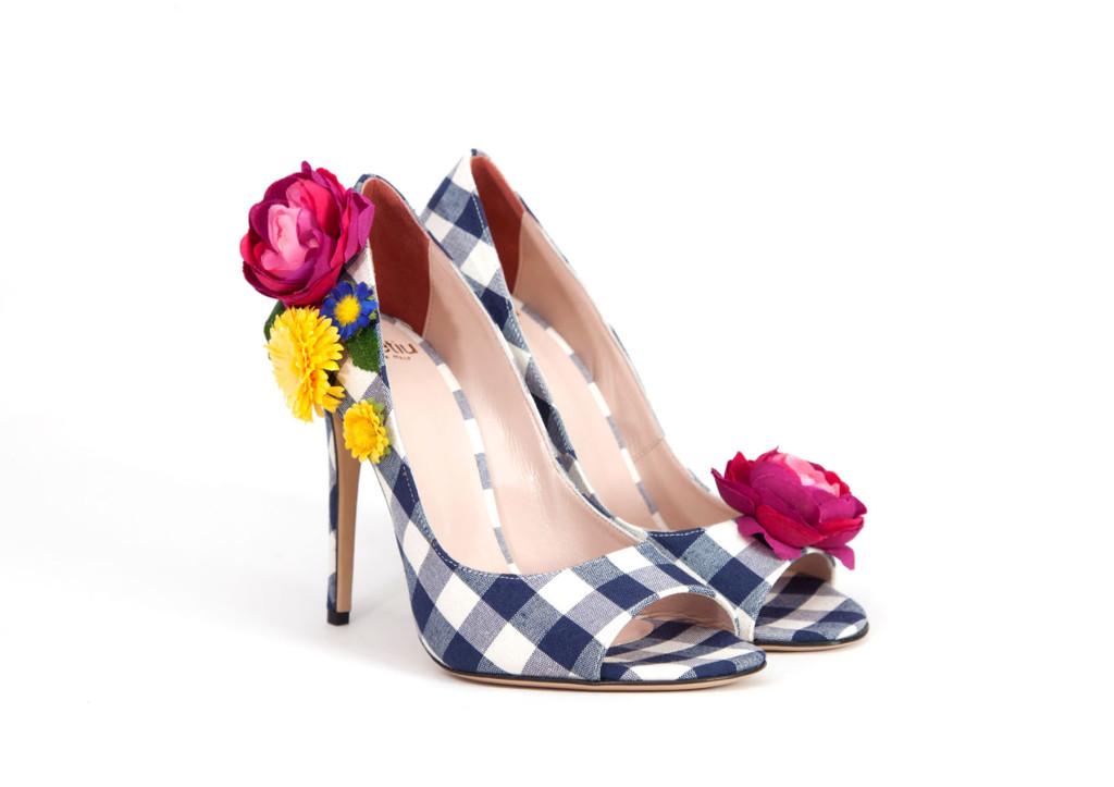 scarpe quadretti vichy dimetiu