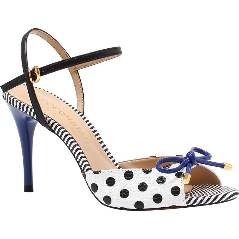 polka dot sandals cecconello