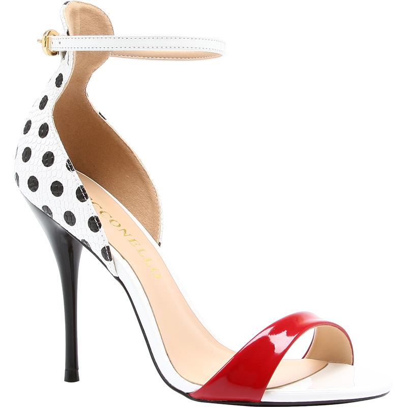 scarpe a pois cecconello