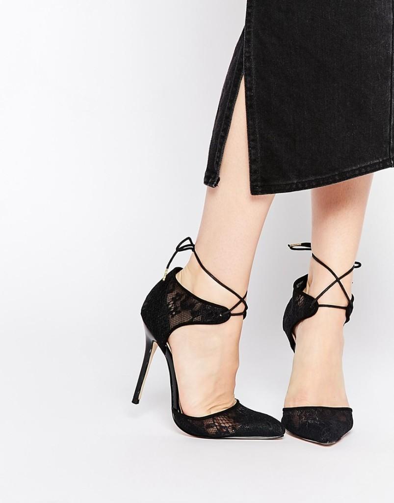 scarpe in pizzo