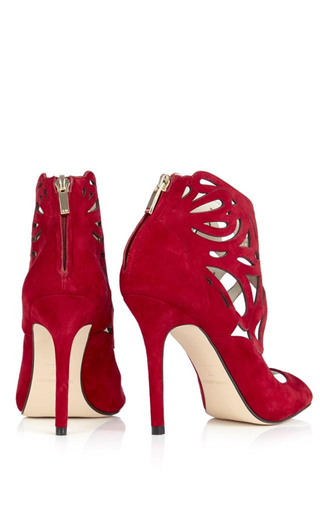 sandali rossi karen millen tacchi