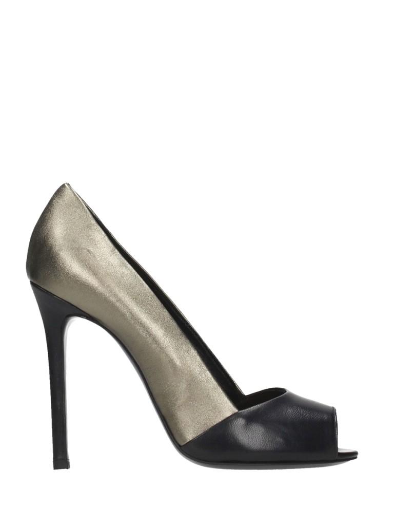 scarpe argento nera marc ellis