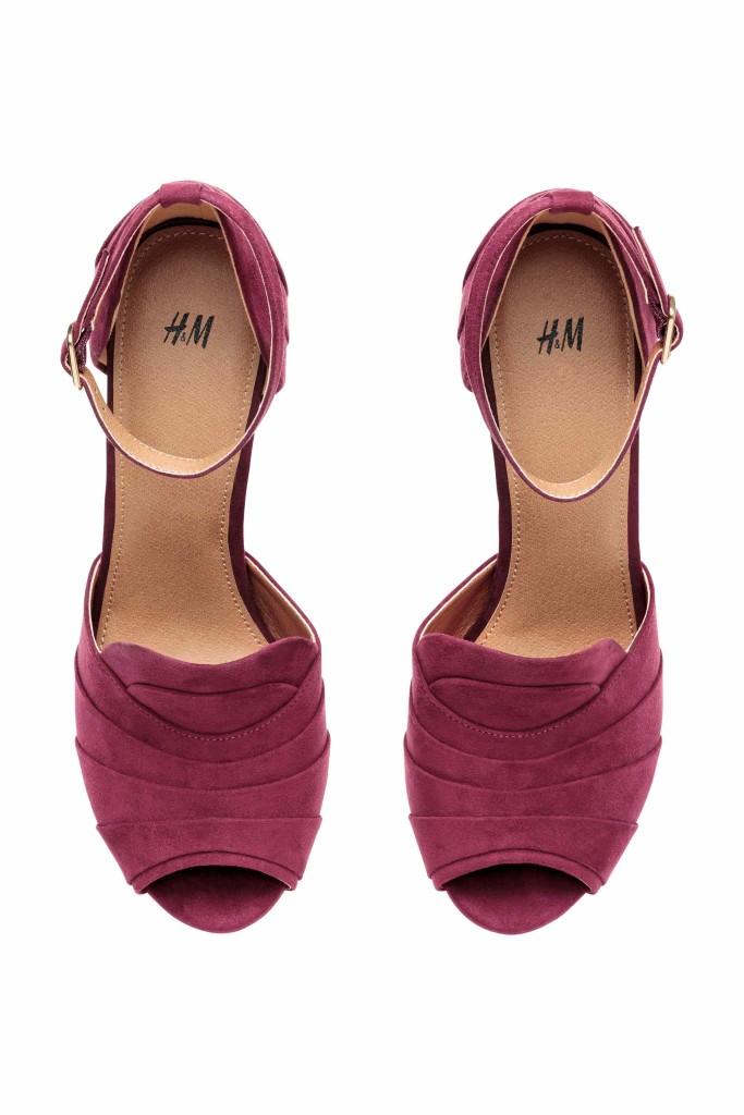 scarpe color marsala 2015