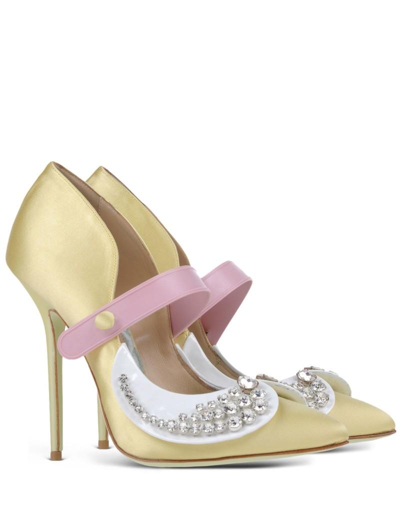scarpe con colletto
